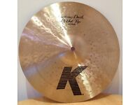 Zildjian K Custom 13in Dark Hi Hats