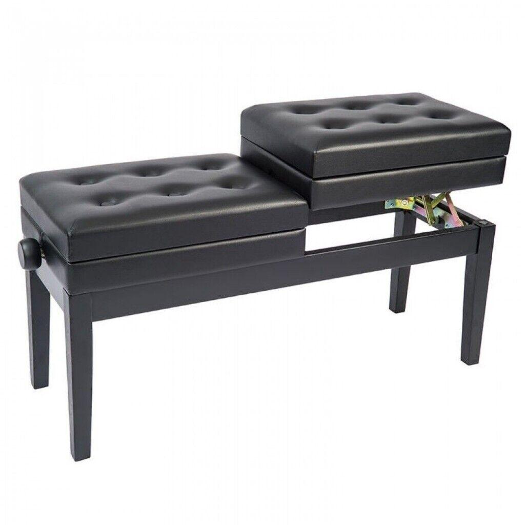 Excellent Kinsman Kpb20Bk Height Adjustable Duet Piano Stool In Wimbledon London Gumtree Short Links Chair Design For Home Short Linksinfo