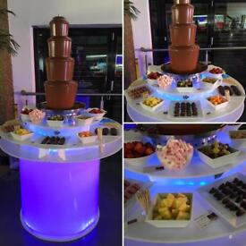 Chocolate Fountain Hire - Yorkshire's Premier Chocolate Fountain Hire