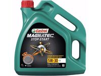 Castrol Magnatec (C3) car Engine Oil - 5W-30 - 4ltr (new and unopened and sealed)