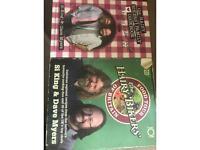 2 x Hairy Bikers cookbooks