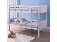🍁 Furniture On Sale🍁 SINGLE WOODEN BUNK BED FRAME w OPTIONAL MATTRESS-CALL NOW