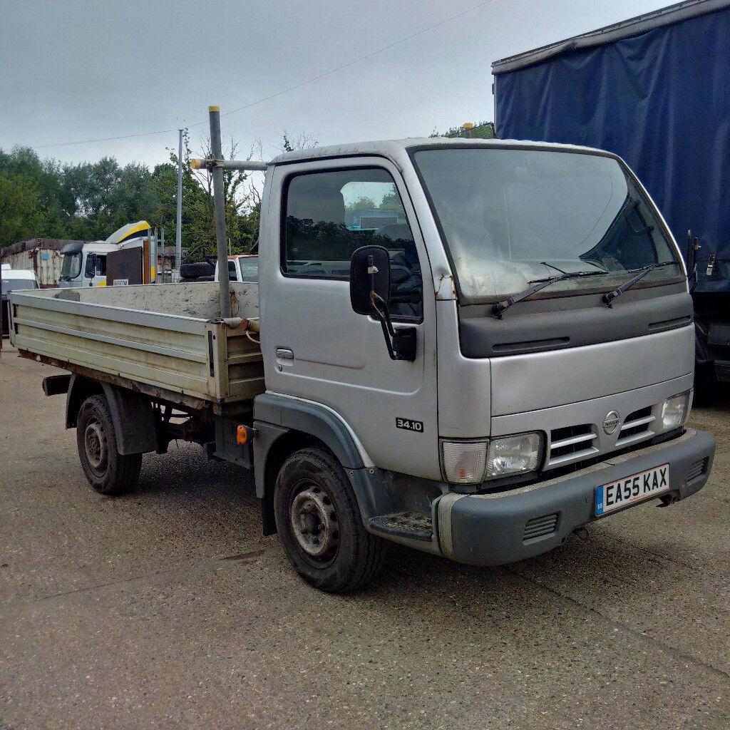 Nissan Cabstar 3410 30 Diesel Single Wheel Truck Mot Till 2019 Cabster 4x4