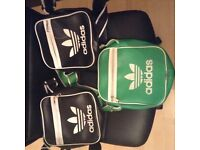 3 x unisex adidas side bags kids bought but never use