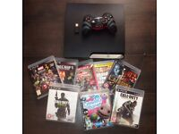 Play station 3 with 9 games and controller