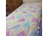 single bed with 2 drawers with mattress