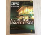 A Streetcar Named Desire- York Notes for A Level