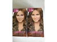 Avon Hair Colour x 2 - Golden Brown with Super Lightening. New & unused.