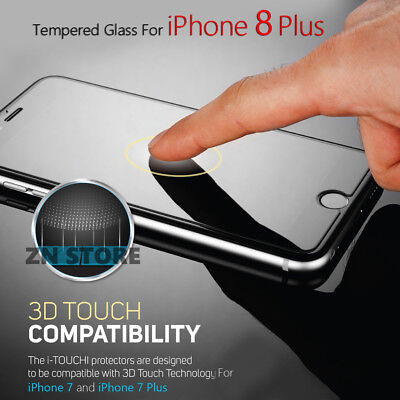 "3D Touch Tempered Glass Screen Protector For Apple iPhone 8 Plus (5.5"")"