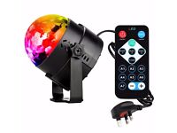 ]Disco Lights Party Lights LED - 7 Colors Sound Activated Strobe Stage Dj Lights