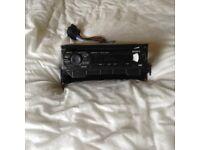 Sony explode car cd player