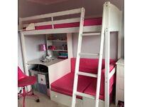Kids Single Bed - High sleeper