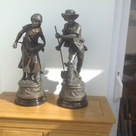 18inches high metal figurines