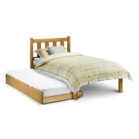 Julien Bowen Single trundle bed oak