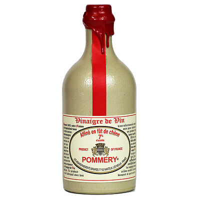 Pommery - French Barrel Aged Red Wine Vinegar, 50 cl (16.9 fl. oz) Crock Bottle