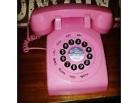 Next Retro Pink Telephone
