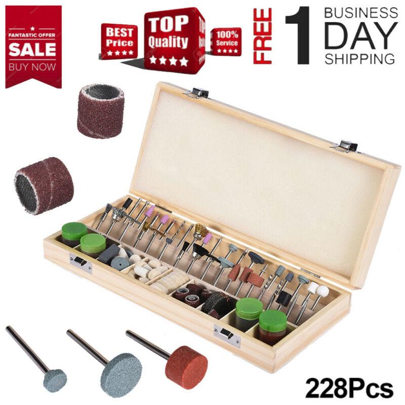 228 piece dremel rotary tool accessories kit