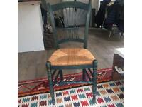 Antique wicker chair in good condition