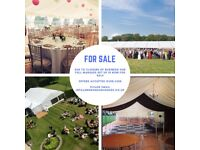 Marquee Equipment (full venue setup) For Sale