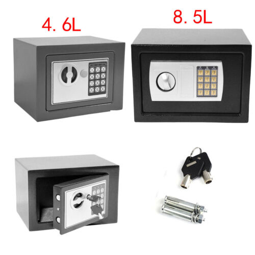 Mini Electronic Password Security Safe Box Home Office Money Cash Safety UK POST