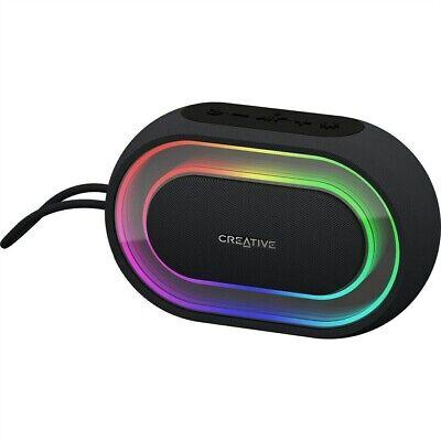 Creative Halo Bluetooth-Lautsprecher in schwarz NEU&OVP