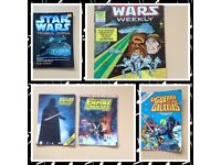 70/80s Star Wars Technical Journal Books And Comics
