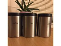 Set of Coffee, Tea and sugar canister