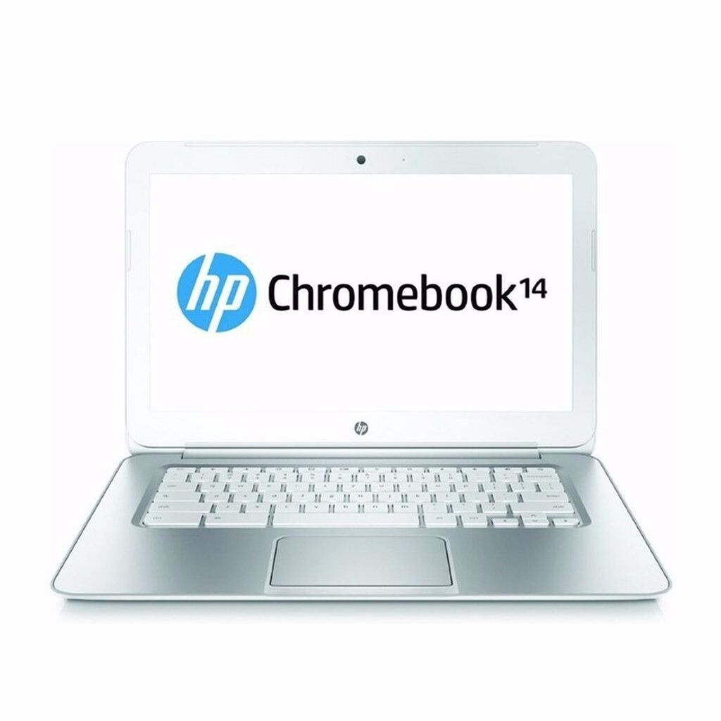 "HP Chromebook 14 14-x013dx 14"" Netbook NVIDIA Tegra K1 16GB SSD White"