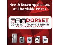 Washing Machine, Tumble Dryer Fridge Freezer Cooker Vacuum Dyson Spares Repairs New Reconditioned