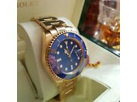 Men's Rolex submariner watch box set