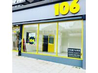 OFFICE SPACES / RETAIL SPACES TO LET - HAMLET COURT ROAD - 106 -