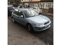Rover 25 1.6 auto 51 reg Long mot 68000 £595