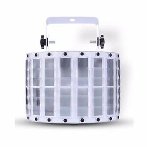GLEDTO 9 LED Butterfly Light DJ Party Stage Effect Light 6 Channels