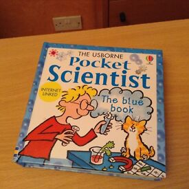 Usborne Pocket Scientist. Handy pocket sized book full of useful facts