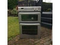 Integrated double oven