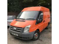 2007 ford transit spares or repair or ID