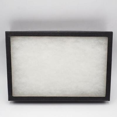 Flat Thin Glass Top Display Case Specimen Mount Jewelry Medals Smalls 8x12