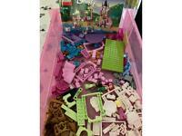 Aerial, Aurora and Tiana Royal Celebration Lego set