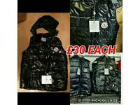 MONCLER GILETS NEW ALL SIZES