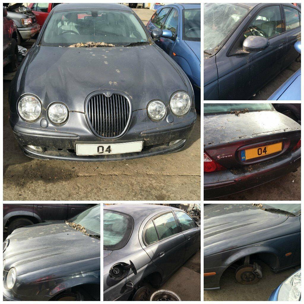 Jaguar S-Type V6 Sport Auto 2.5 2004 Slate Grey LHL Petrol (Front Bumper) all parts available