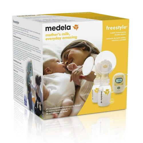 Medela Freestyle Mobile Double Electric Breast Pump Factory Sealed NEW