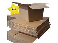"Strong Double Wall Cardboard Boxes 22"" x 14"" x 14"" D/W Packaging Cartons 20 Box"