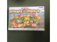 NEW Unopened Rumble in the Jungle Family/ children's Board Game by TOMY.
