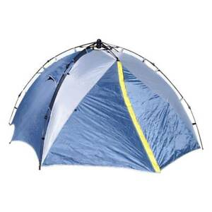 Large 2 Person Quick Pitch Instant 45 Second Pop Up Tent Camping