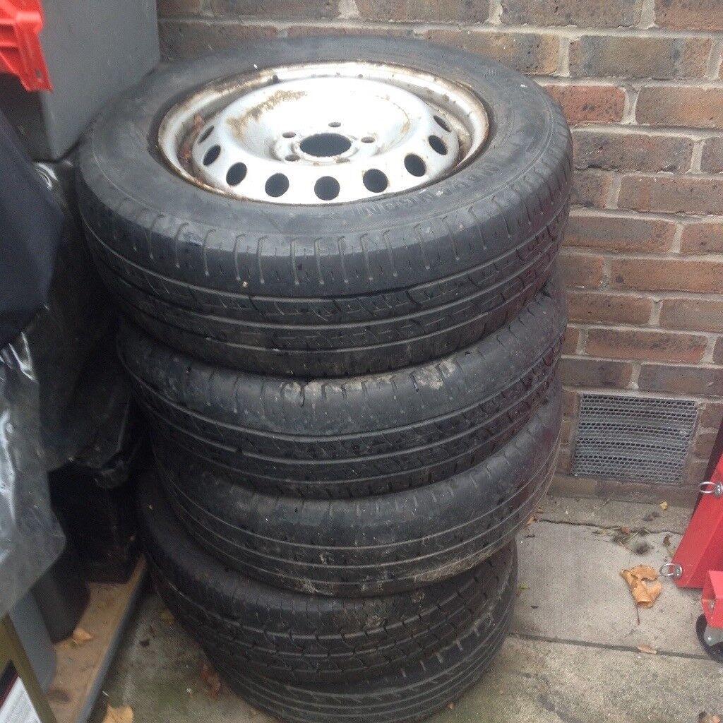 Vauxhall Vivaro Renault Trafic Wheel Rim 01 - 14 Each X1