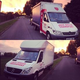 Van Courier Delivery Driver Service Pallet Business Transport With Man For Hire Motorcycle Motorbike