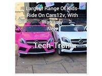 Open Weekend From 12 To 8, Large Selection Of Ride-son Cars,12v, Parental Remote & Self Drive