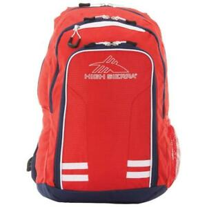 "High Sierra 87375-5805 Blaise 15"" Laptop Backpack - Crimson/True Navy/White (New Other)"