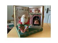 Music Christmas story book,plays jingle bells £20=