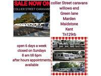 2 4 5 6 berth ,fixedbed ,caravans marden Maidstone Kent